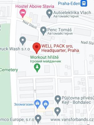 WELL PACK s.r.o.<br> Czech Republic, Prague,<br> Headquarter