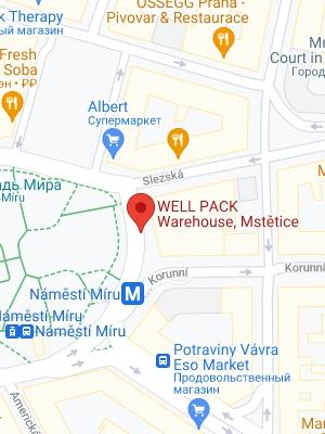 WELL PACK s.r.o.<br> Czech Republic, Prague,<br> Logistics Warehouse